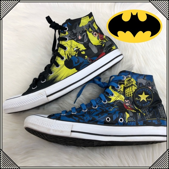 65547351d4fc Converse Other -   Converse Batman and Robin   High Top Shoes